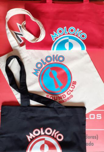 bolsas 15€</br>Contacta con nosotros:</br>molokosc@molokosoundclub.com ó al teléfono 626529967