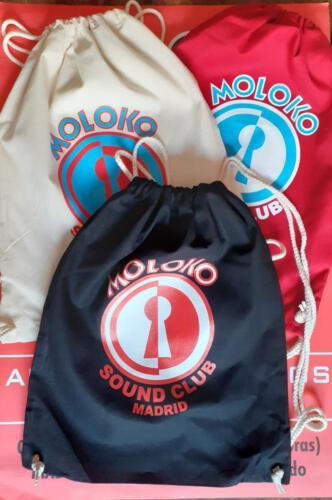 mochilas 15€</br>Contacta con nosotros:</br>molokosc@molokosoundclub.com ó al teléfono 626529967