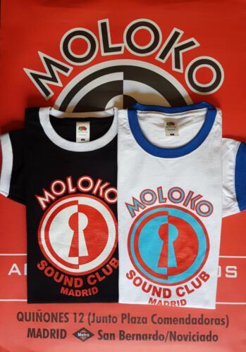 Camisetas - 17€ </br>Contacta con nosotros:</br>molokosc@molokosoundclub.com ó al teléfono 626529967